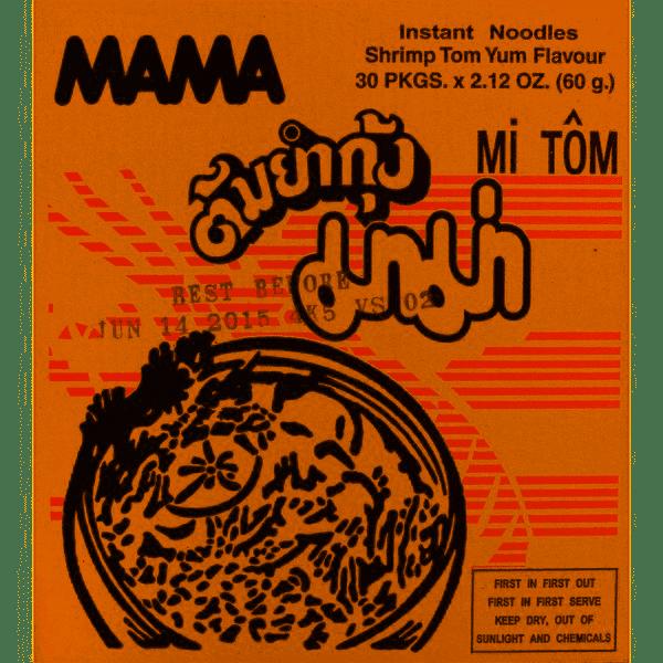 MAMA SHRIMP Tom Yum 30 x 60g