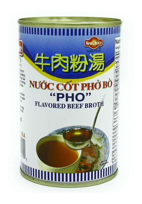 NEW CHOICE Beef Broth/ Nuoc Cot Pho 14 OZ