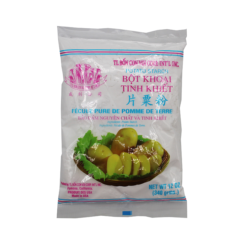 TL BON CON VOI Potato Starch / Bot Khoai Tinh Khiet 12 Oz