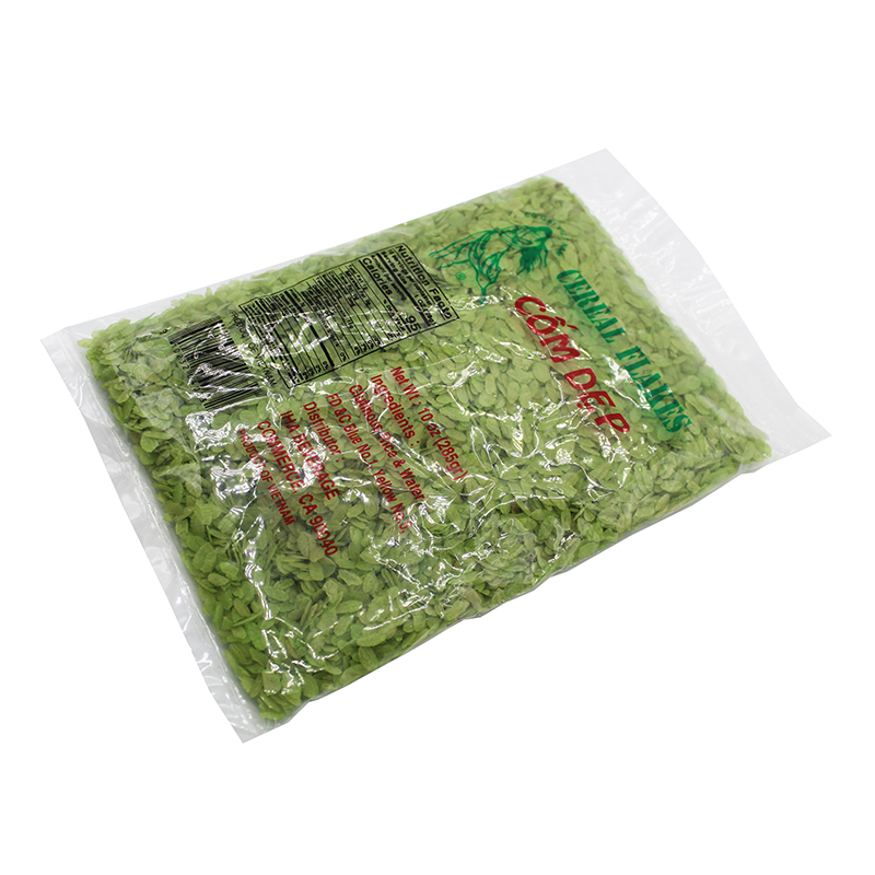 CO GAI VIET NAM Green Cereal Flakes / Com Dep Xanh 10 OZ