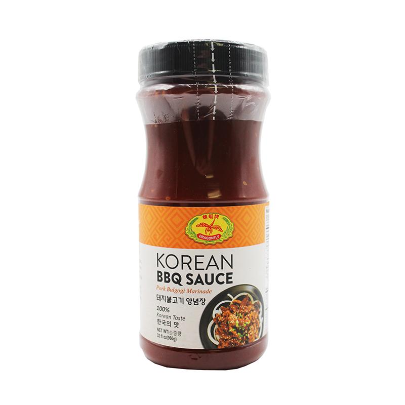 DRAGON FLY Korean bbq sauce 32 OZ