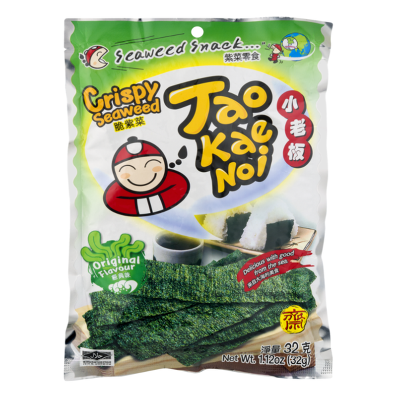 TAOKAENOI Crispy Seaweed Original Flavour 1.12 OZ