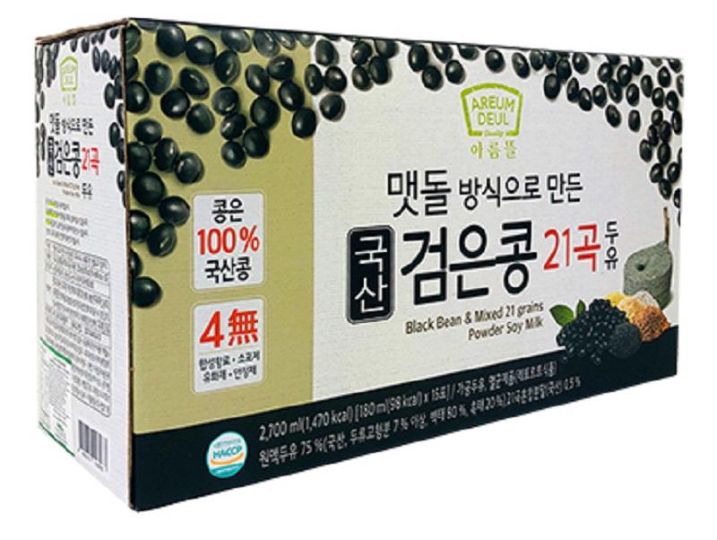 JAYONE Blackbean & 21 Grains Soymilk 180 ML