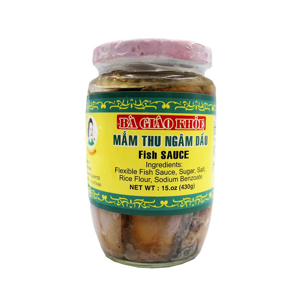BA GIAO KHOE Fish Sauce / Mam Thu Ngam Dau 15 OZ