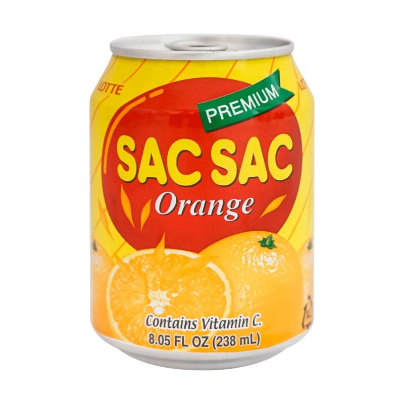 LOTTE Sacsac Prem Orange Drink 8.05 OZ