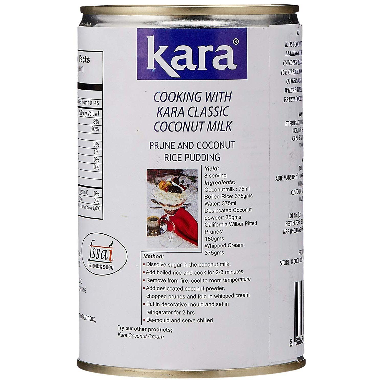 KARA Coconut Milk Classic 14.4 Fl Oz