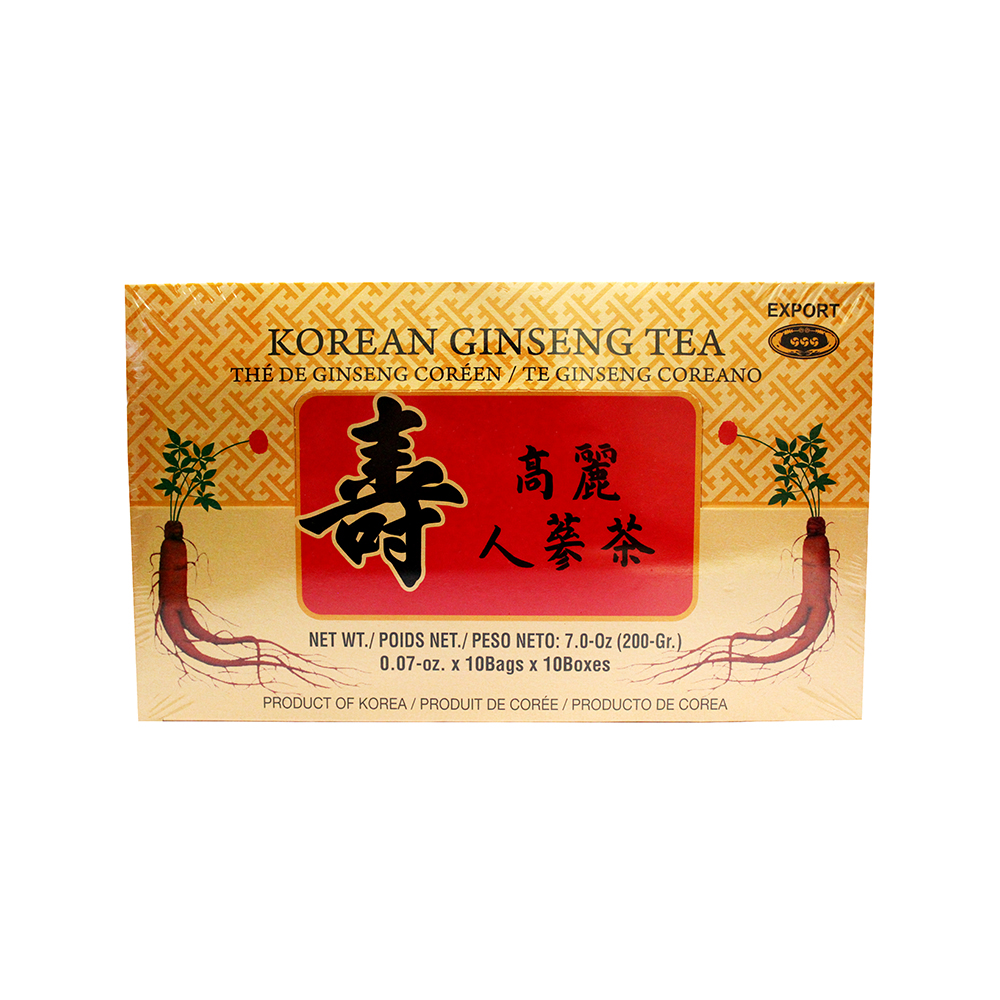 ROCKMAN Korean Ginseng Tea 7 OZ