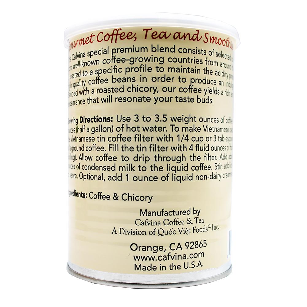 CAFVINA Special Premium Blend Ground Coffee 12 OZ