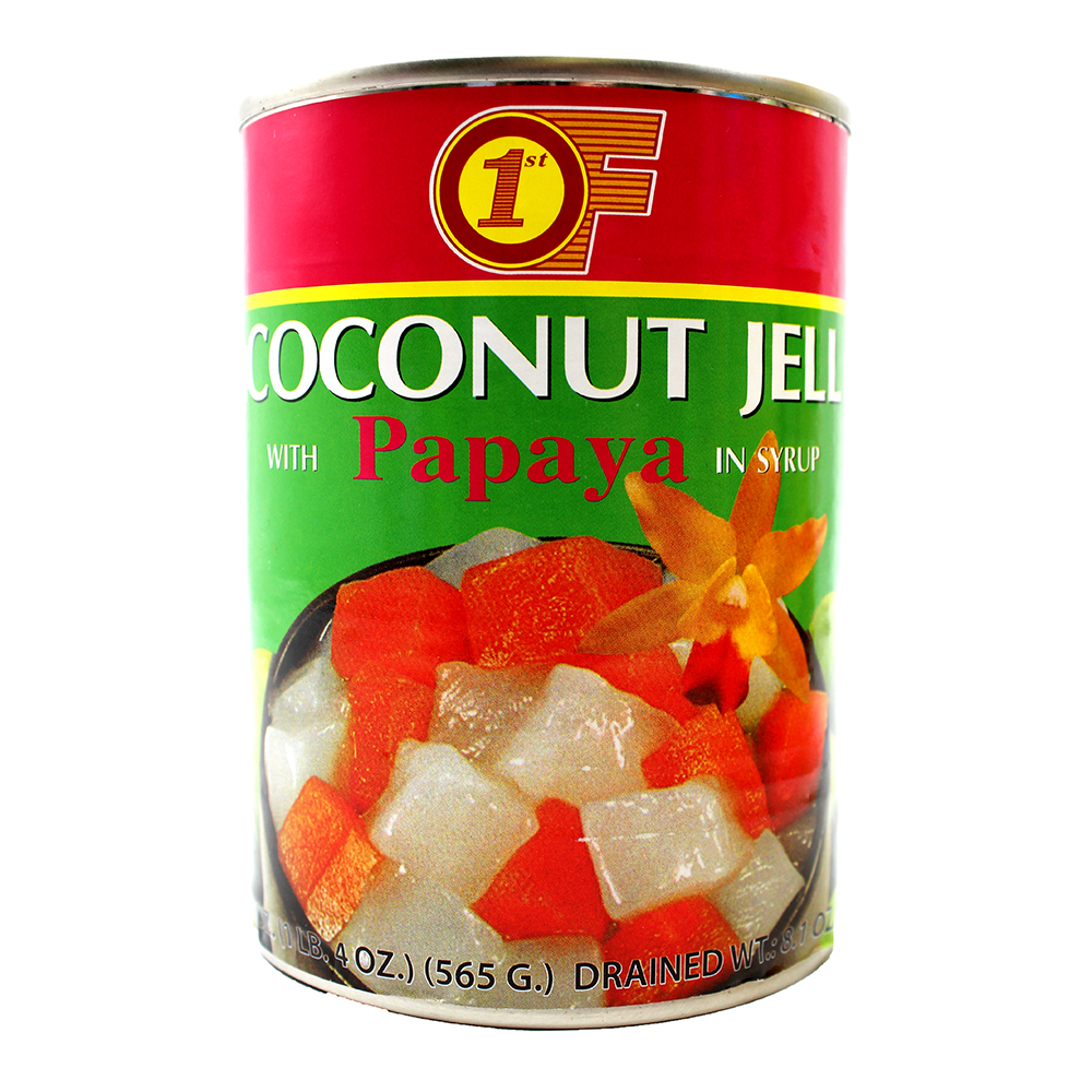 1ST OF Coconut Jelly With Papaya In Syrup 20 OZ