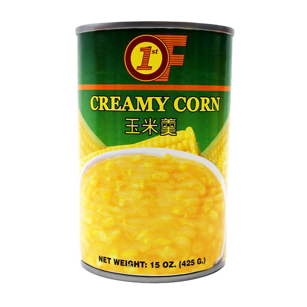 1ST OF Creamy Corn 15 OZ