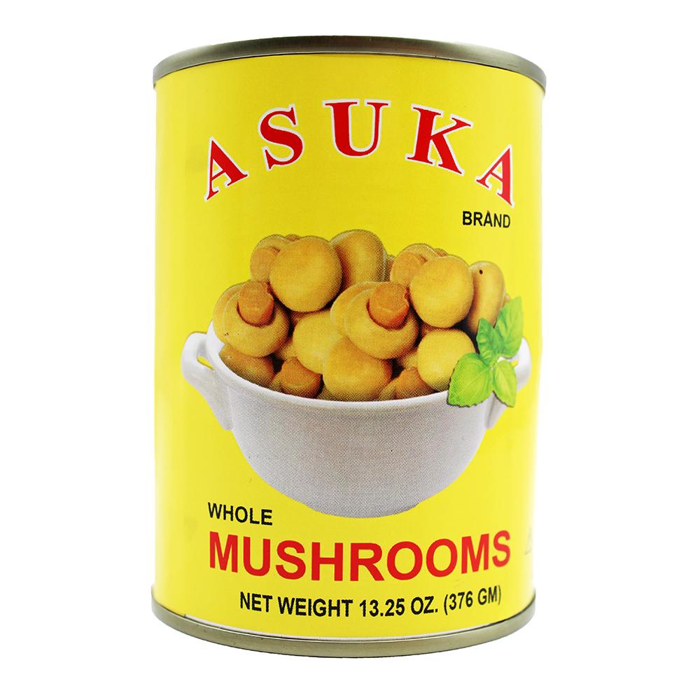 ASUKA Whole Mushrooms (Button) 13.25 OZ