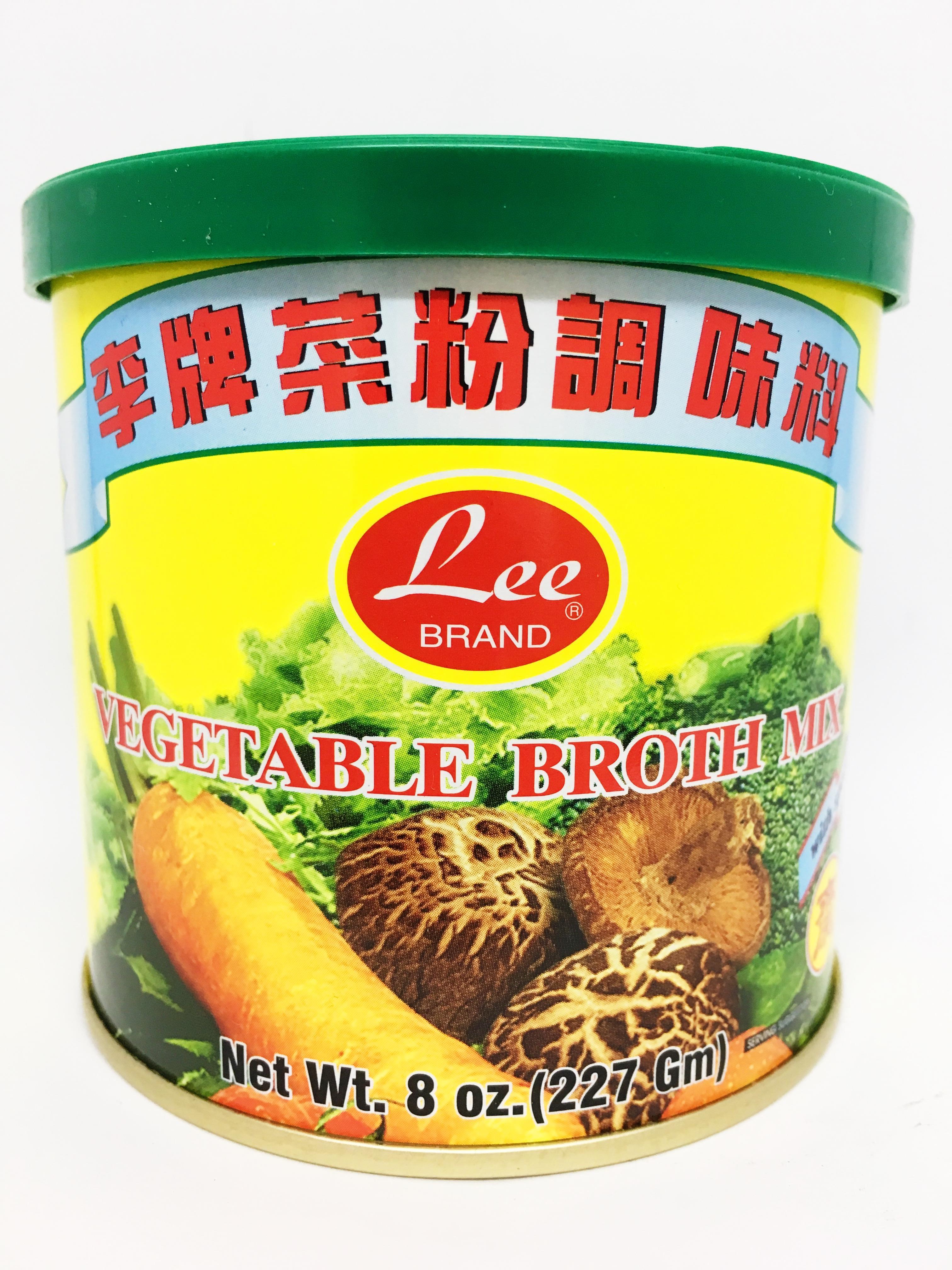 LEE Vegetable Broth Mix 8 OZ