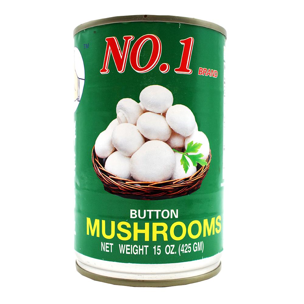 NO.1 Button Mushrooms 15 Oz