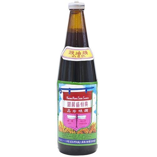 Kwong Hung Seng  Black Soy Sauce 21 Oz