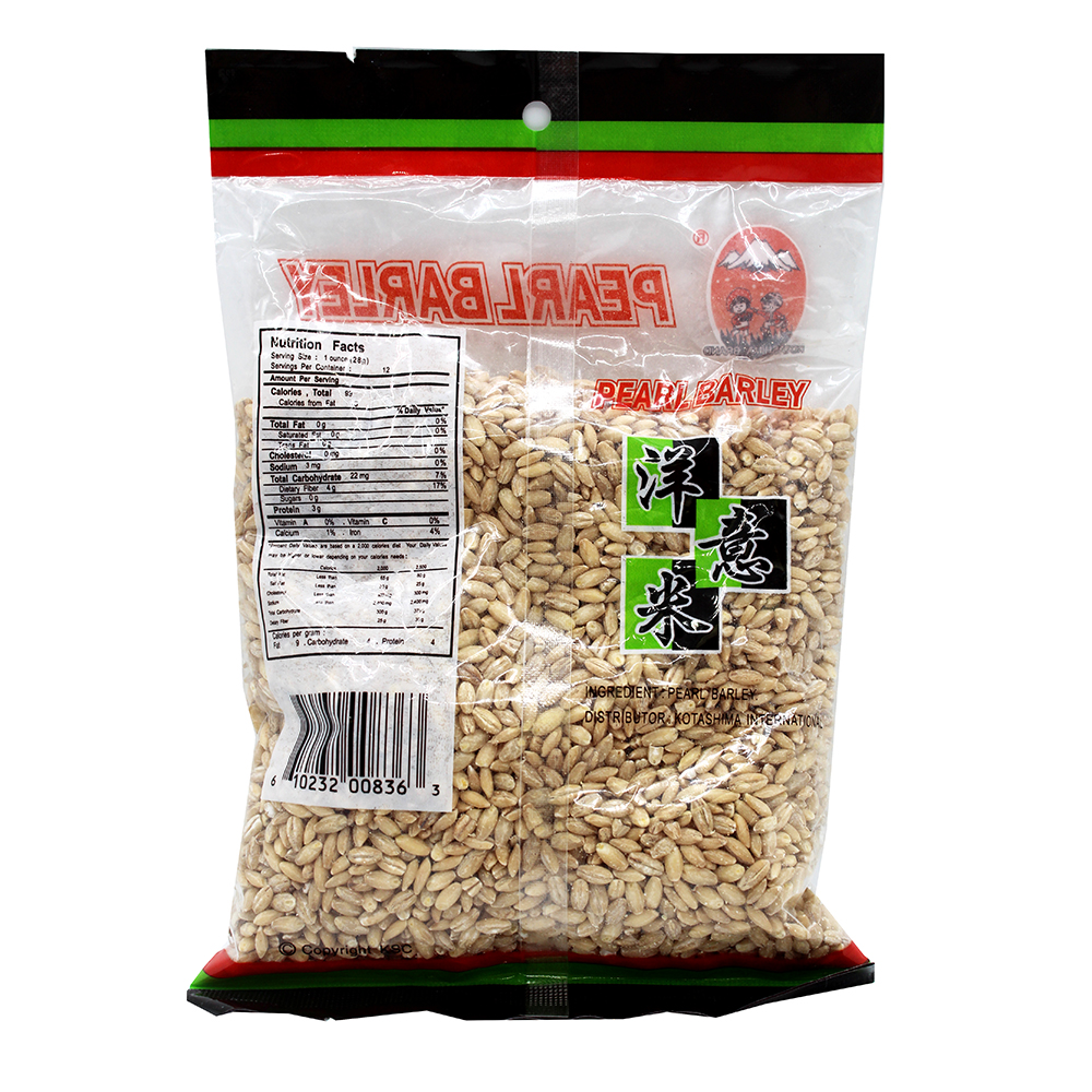 KOTASHIMA Dried Pearl Barley 12 OZ