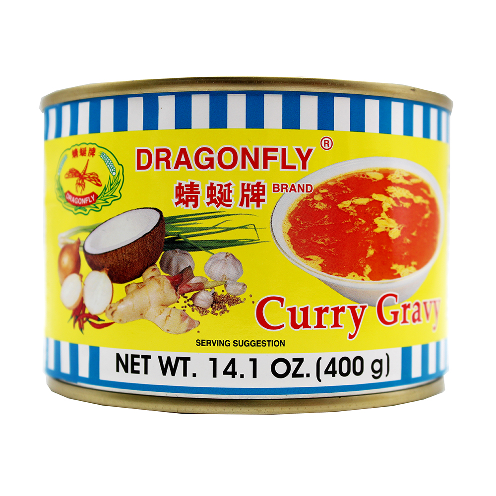 DRAGONFLY Curry Gravy 14.1 OZ