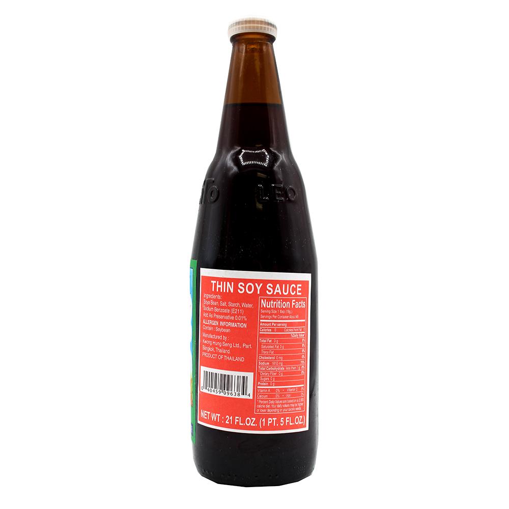 KWONG HUNG SENG SAUCE Thin Soy Sauce 21 OZ