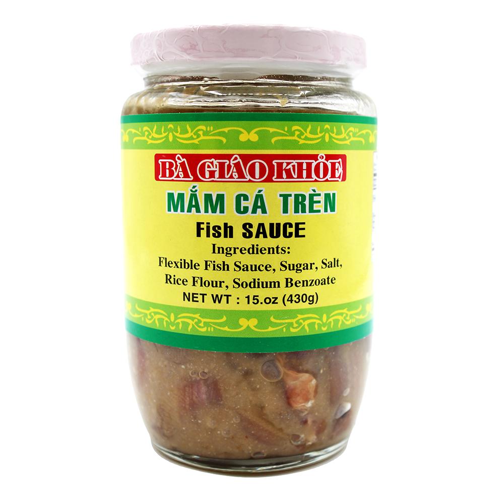 BA GIAO KHOE Mam CA Tren / Fish Sauce 15 OZ