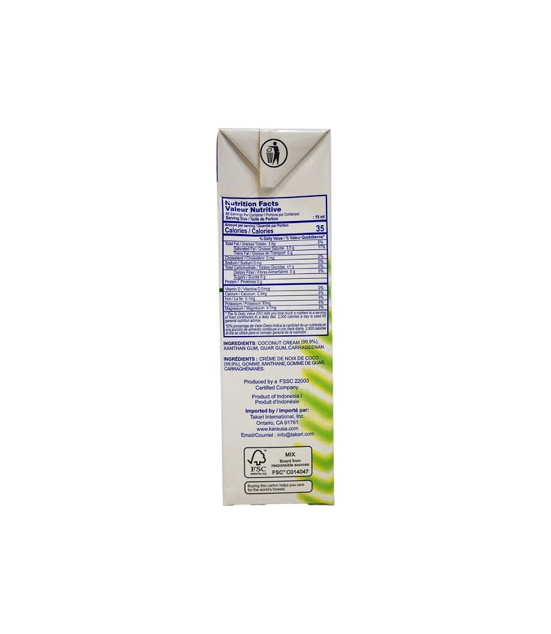 KARA  Coconut Cream 33.8 OZ
