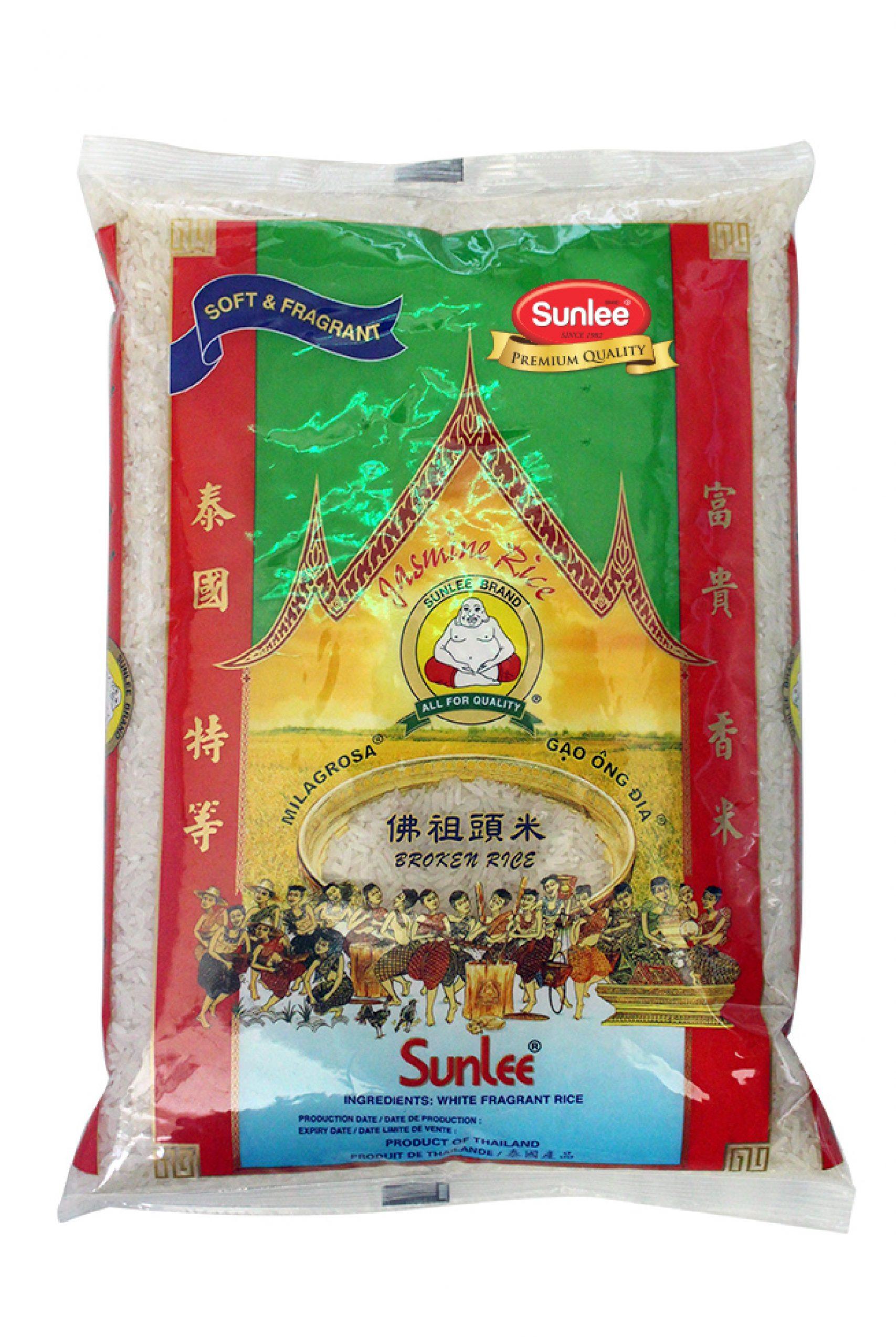 SUNLEE Broken Jasmine Rice 5 LB
