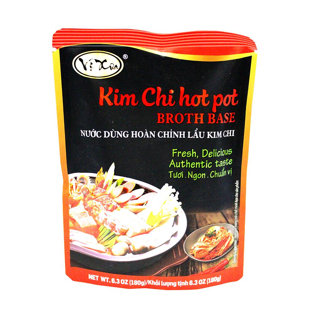 VI XUA Kim Chi Hot Pot Broth Base / Nuoc Dung Hoan Chinh Lau Kim Chi 6.3 OZ
