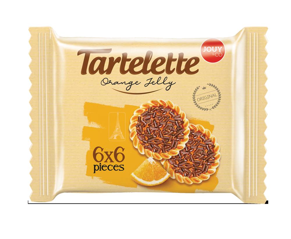 JOUY& CO Tartelette Orange Jelly Biscuit 9 OZ