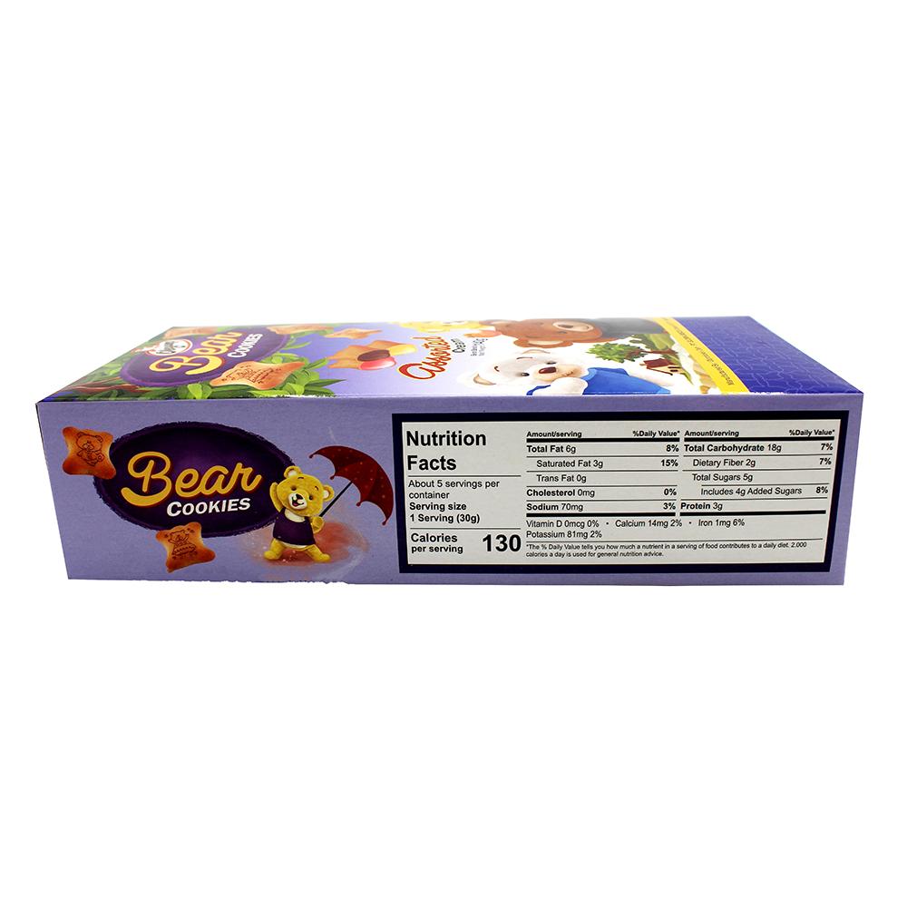 OLEGAMO Bear Cookies Assorted Cream 140 Gr