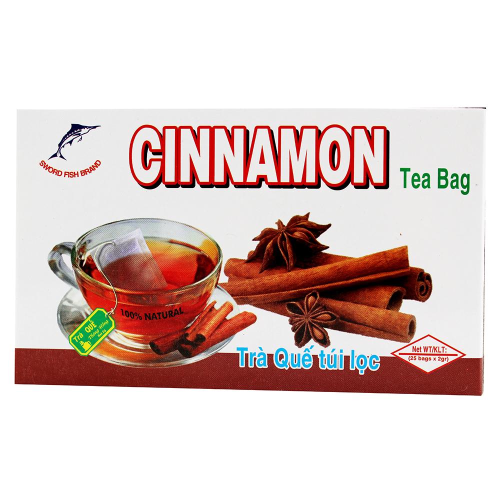 SWORD FISH Cinnamon Tea / Tra Que Tui Loc 25 Bags