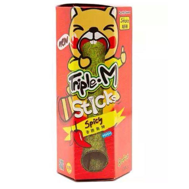 TRIPLE. M Roasted Seaweed Stick Spicy 24 G