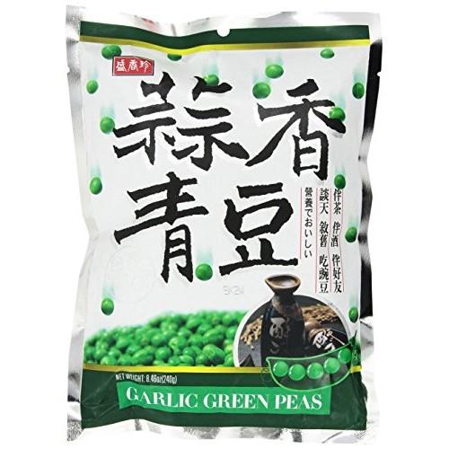 DIN DON Garlic Green Peas 8.46 OZ