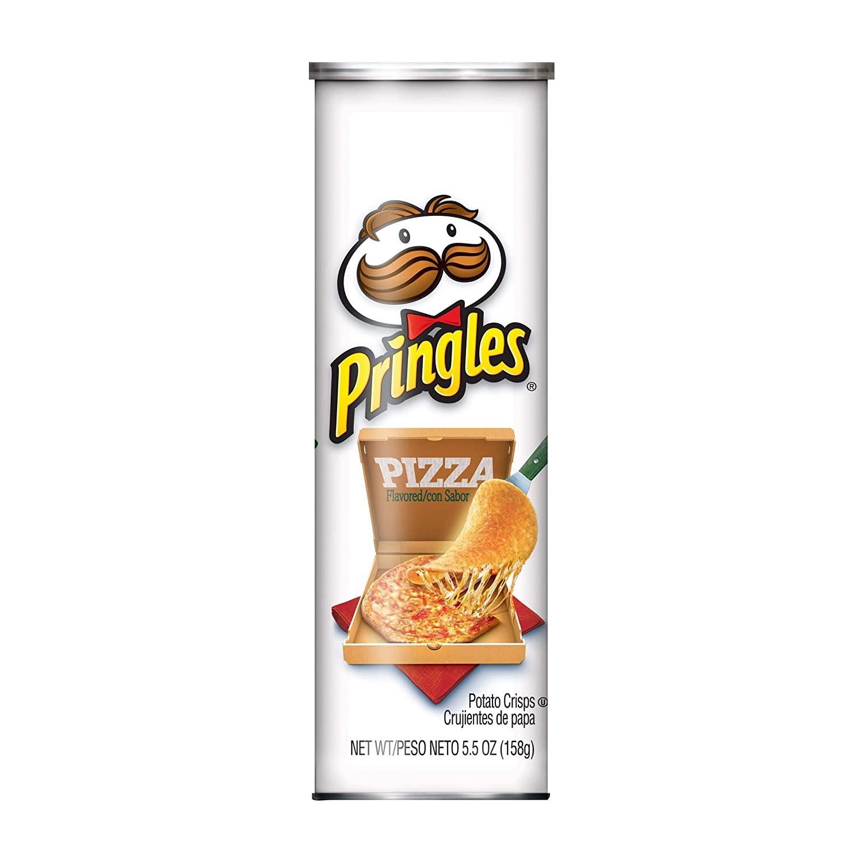 PRINGLES Pizza Potato Crisps 5.5 Oz