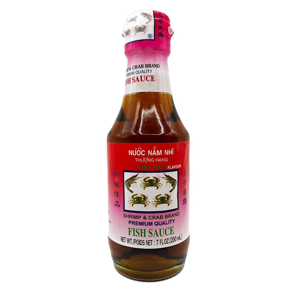 SHRIMP & CRAB Fish Sauce / Nuoc Mam Nhi Thuong Hang 7 OZ