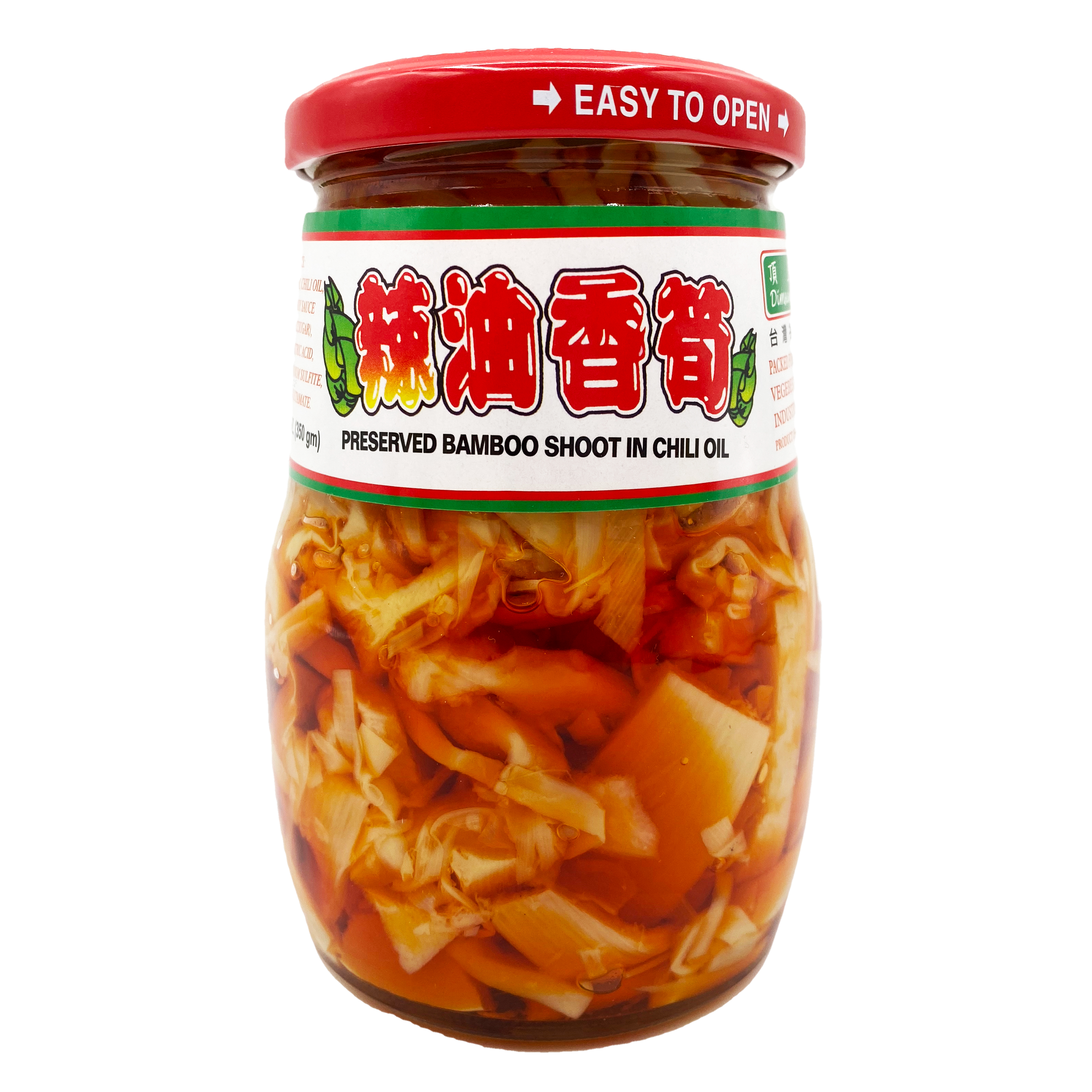 DIMSUM Preserved Bamboo Shoot In Chili Oil 12 OZ