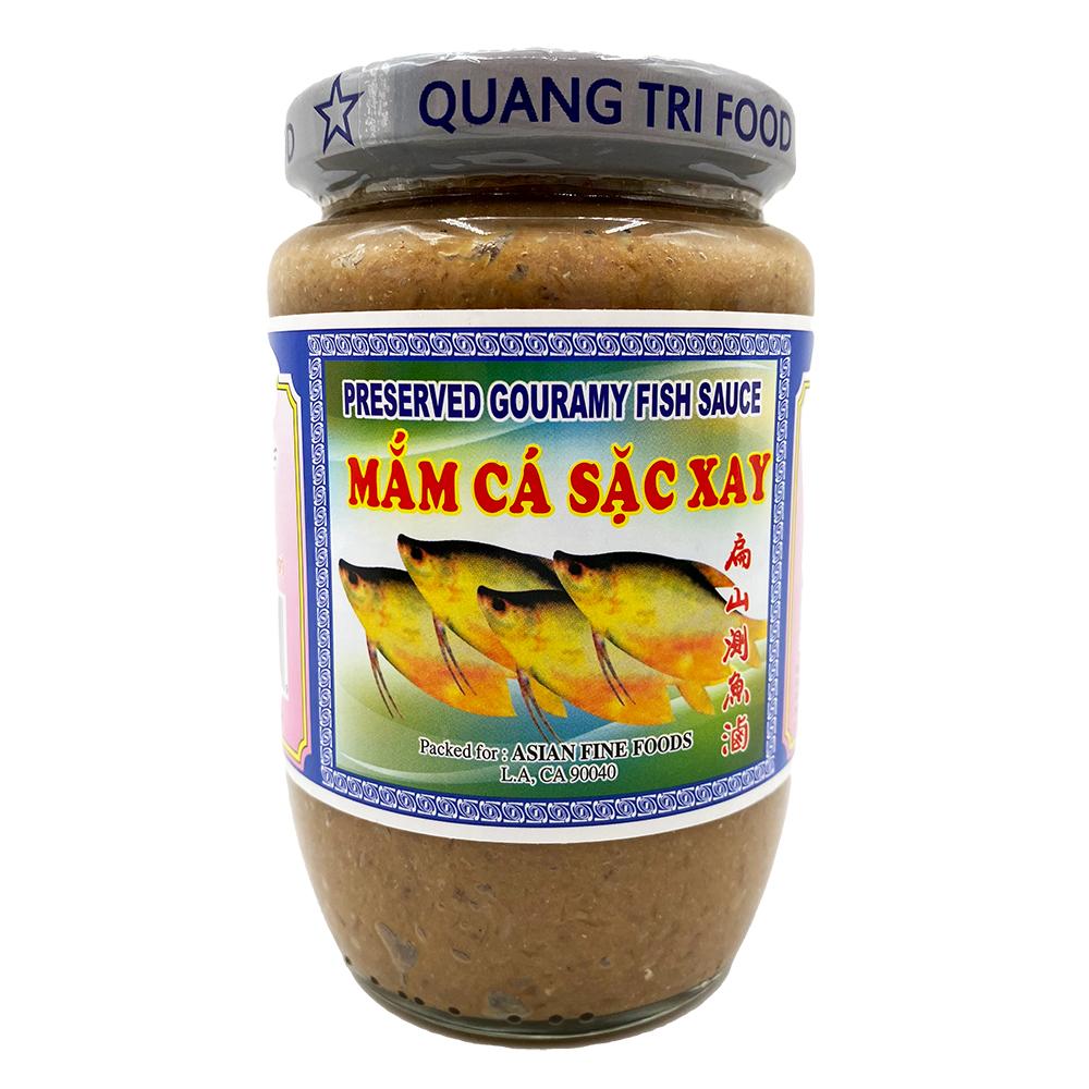 QUANG TRI Preserved Gouramy Fish Sauce / Mam Ca Sac Xay 16 OZ