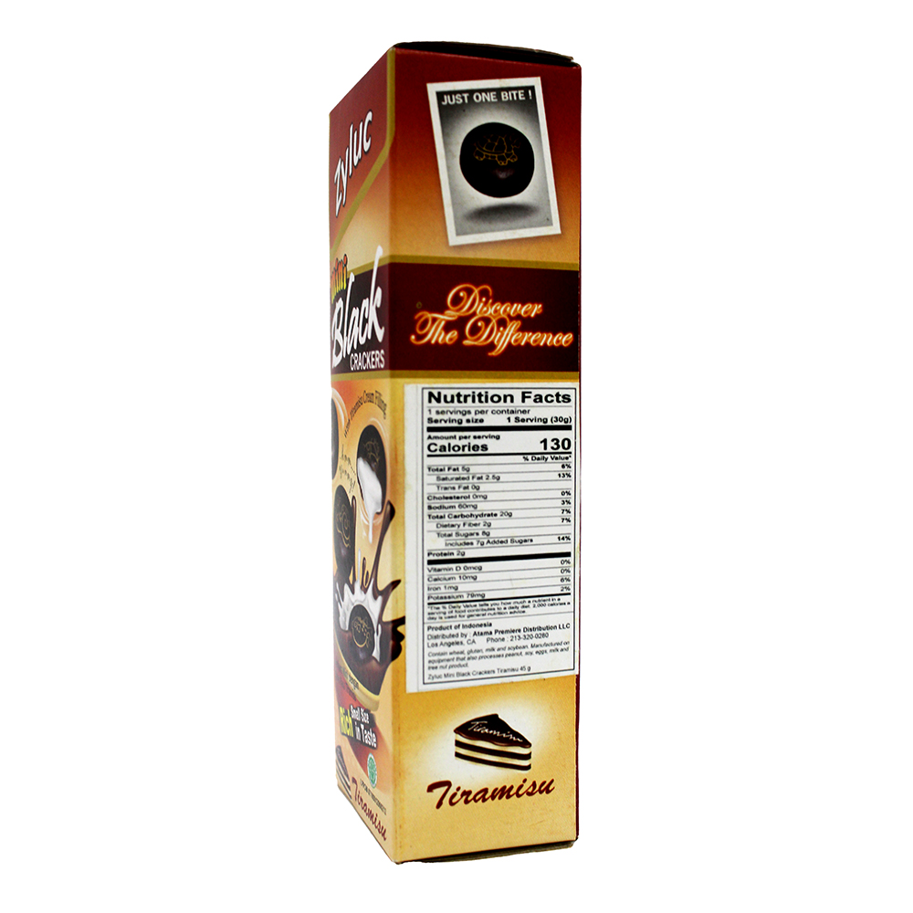 ZYLUC Mini Black Crackers 45 Gr