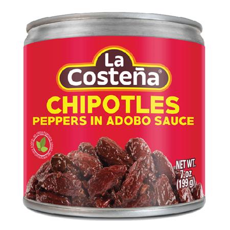 LA COSTNA Chipotle Peppers In Adobo Sauce 7 OZ