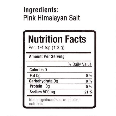 PALERMO Himalayan Pink Salt With Grinder 12.9 OZ