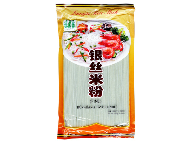 Three Ladies Bamboo Garden Jiang Xi Rice Stick Fine/ Bun Soi Nho 10.58 Oz