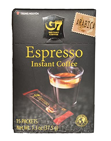 G7 Espresso Instant Coffee Arabica Flavor 1.3 OZ