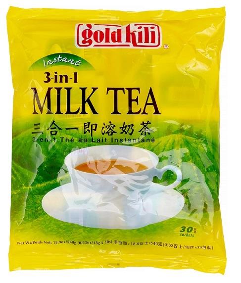 GOLD KILI Instant Milk Tea 3 In 1 MILK TEA 18.9 OZ