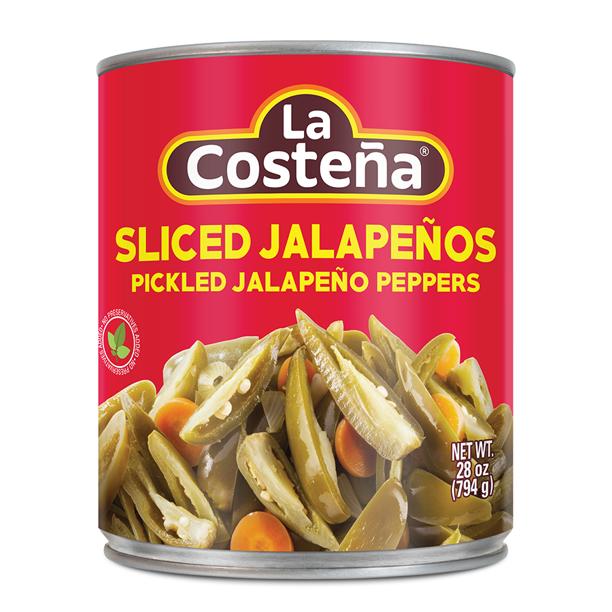 LA COSTENA Pickled Jalapeno Peppers Sliced 28 OZ