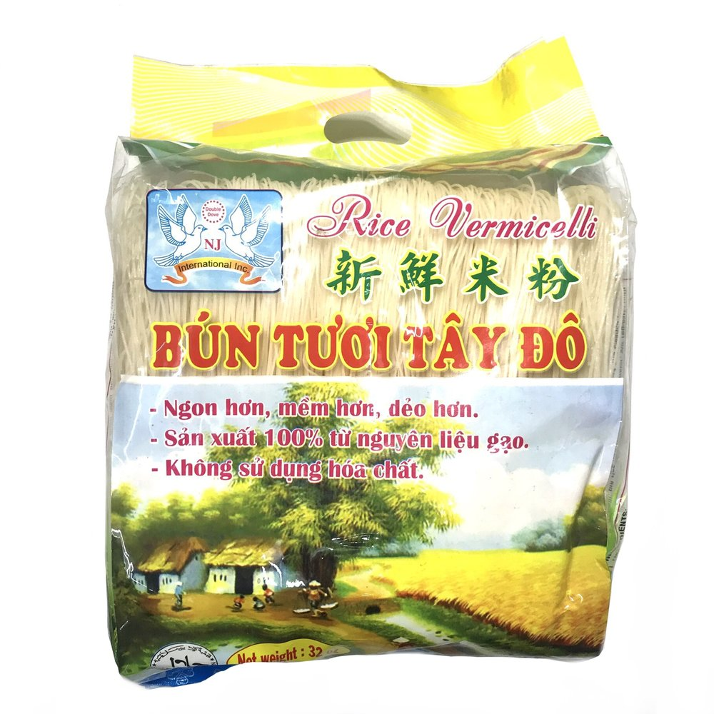 Double Dove Rice Vermicelli / Bun Tuoi Tay Do 32 Oz