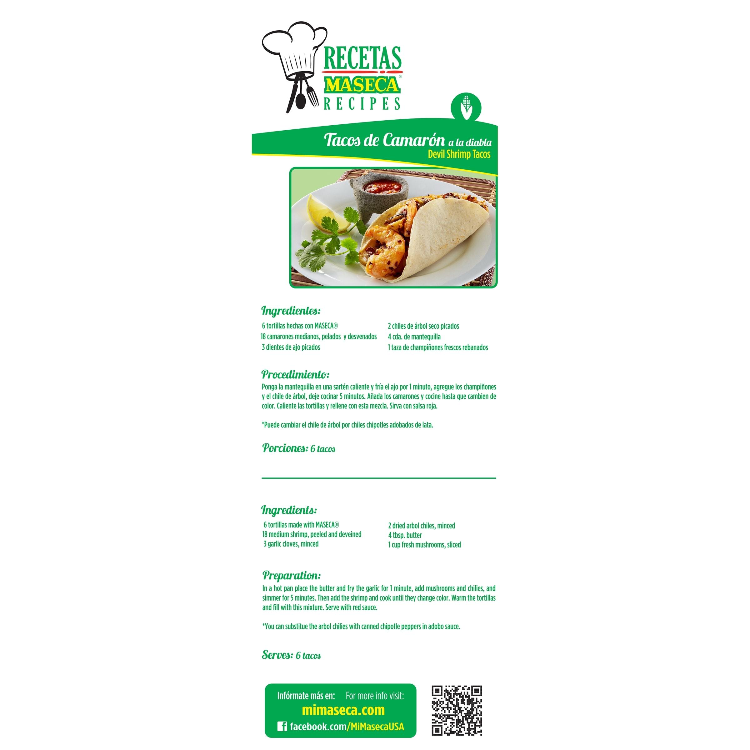 MASECA Instant Corn Masa Flour 4.4 LB