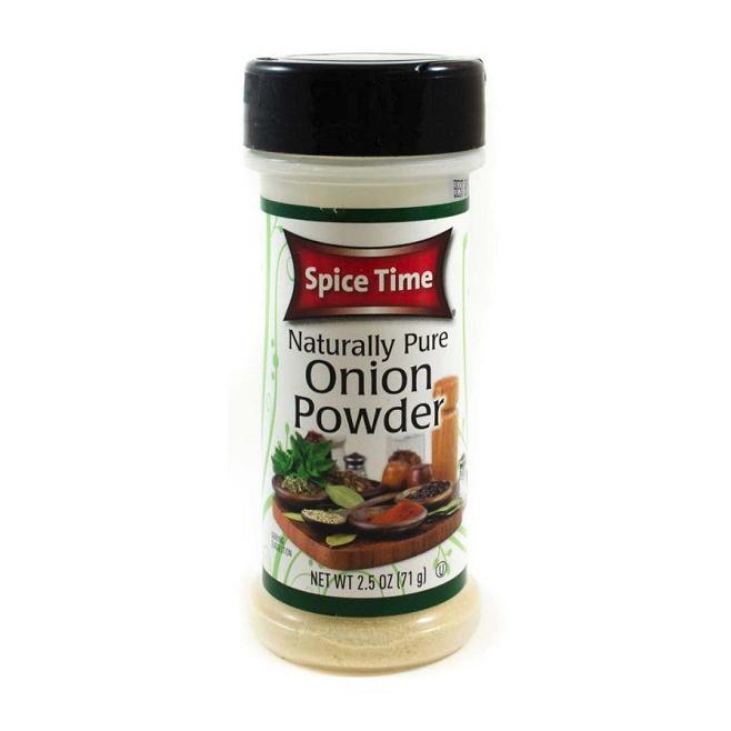 SPICE TIME Onion Powder 2.5 OZ