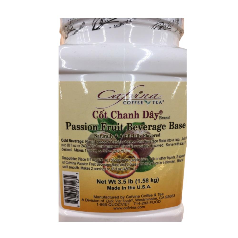 CAFVINA Passion Fruit Beverage Base/ Cot Chanh Day 3.5 Lb