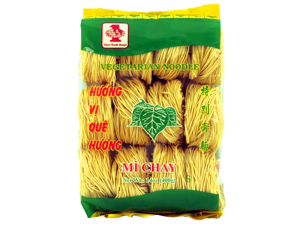 FIRST WORLD Vegetarian Noodle (S) / Mi Chay 14 OZ