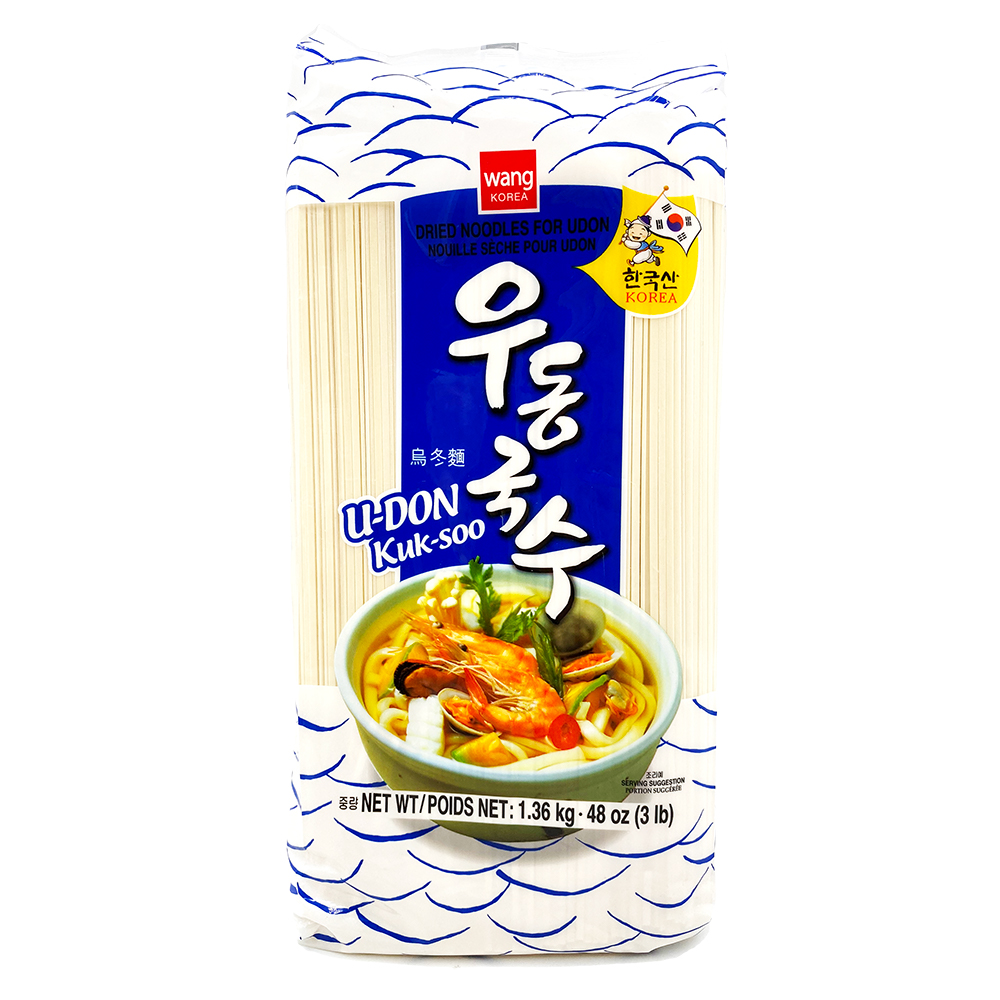 WANG Dried Noodle For Udon 3 LB