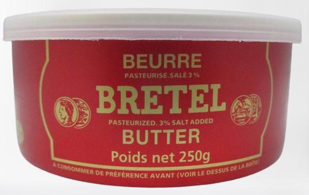 BEURRE Bretel Butter 250G [COLD]