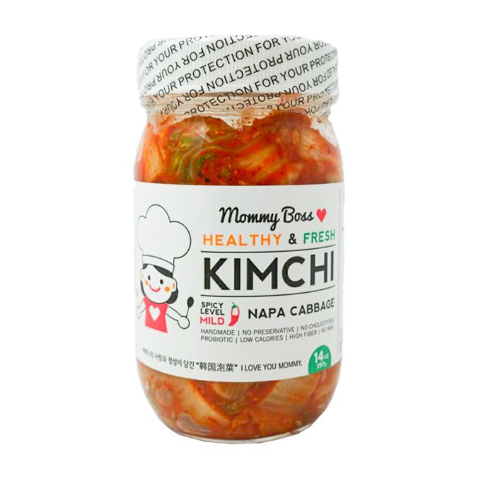 MOMMY BOSS Healthy Fresh Kim Chi Napa Cabbage 14 OZ [COLD]