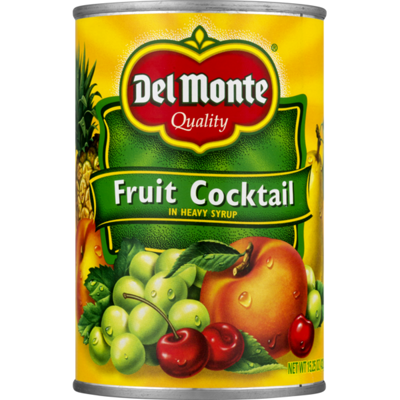 Del Monte Fruit Cocktail In Heavy Syrup 15 Oz